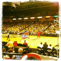 Photo taken at CFE Arena by Al F. on 3/10/2013
