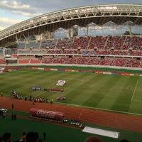 Photo taken at Estadio Nacional by Henry on 1/27/2013