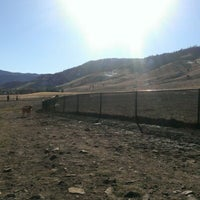 Photo taken at Foothills Community Dog Park by Bryan S. on 1/19/2013