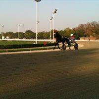 Photo taken at Ippodromo Arcoveggio by Chiara on 10/25/2012