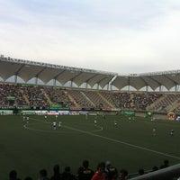 Photo taken at Estadio Bicentenario de La Florida by Carlos A. on 7/28/2013