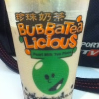 Photo taken at BubbaTeaLicious Pearl Milk Tea Place by Bless M. on 1/11/2013