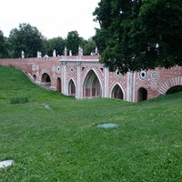 Photo taken at Tsaritsyno Park by Homme F. on 7/20/2013