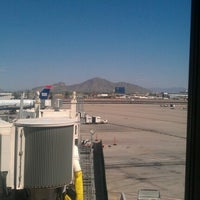 Photo taken at Gate A3 by Chris F. on 9/19/2012