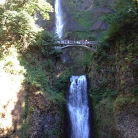 Photo taken at Multnomah Falls by Claire on 7/26/2013
