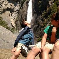 Photo taken at Lower Yosemite Falls by Leonard D. on 6/14/2016