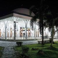 Photo taken at Masjid Agung Al-Falah by Wisda K. on 11/4/2016