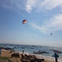 Photo taken at Tanjung Benoa Beach by Muhammad Iqbal A. on 8/5/2016
