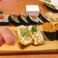 Photo taken at Yellowtail Japanese Bistro by Anna C. on 9/30/2012