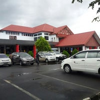 Photo taken at Bandara Fatmawati Soekarno (BKS) by Has N. on 2/22/2013