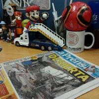 Photo taken at Diario La Prensa by Freddy B. on 1/28/2013