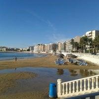 Photo taken at Playa El Salaret / Los Locos by Richard G. on 11/5/2012