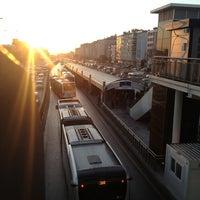 Photo taken at Avcılar Metrobüs Durağı by Osman Eken on 12/26/2012
