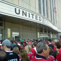 Photo taken at United Center by Emily on 5/18/2013