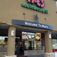 Photo taken at Moe's Southwest Grill by Jake L. on 11/19/2012