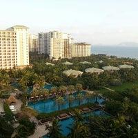 Photo taken at HowardJohnson Resort Sanya Bay by Andrey Y. on 11/7/2012