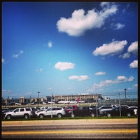 Photo taken at MSP Airport Cell Phone Lot by Stephanie on 7/2/2013