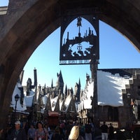 Photo taken at The Wizarding World Of Harry Potter - Hogsmeade by Christina on 11/29/2012