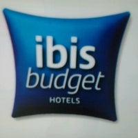 Photo taken at ibis Budget Hotel by Roberto P. on 11/16/2012