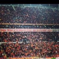 Photo taken at Türk Telekom Arena by Serdar Y. on 11/23/2013