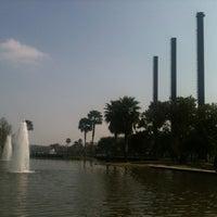 Photo taken at Parque Fundidora by Cristal G. on 2/9/2013