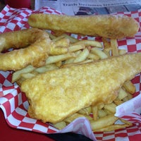 Photo taken at H.salt Fish & chips by Sean R. on 4/15/2013