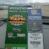 Photo taken at Las Vegas Motor Speedway by Sean R. on 3/9/2013