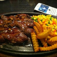 Photo taken at Alibaba Steak by regy s. on 3/8/2013