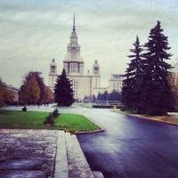 Photo taken at Юридический факультет МГУ by Дарья on 10/12/2012