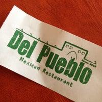 Photo taken at Del Pueblo Mexican Restaurant by BADASH on 10/10/2012