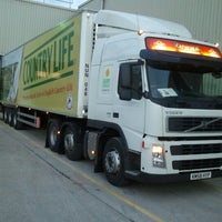 Photo taken at Dairy Crest National Distribution Centre by Jim W. on 9/14/2012