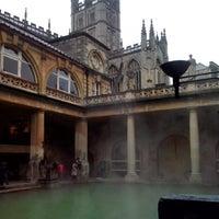 Photo taken at The Roman Baths by Jen C. on 2/10/2013