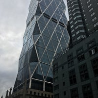Photo taken at Hearst Tower by Silvana V. on 10/20/2016