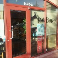 Photo taken at The Posh Bagel by Jim O. on 1/15/2013