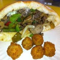 Photo taken at Steaks Unlimited by Jen on 12/23/2012