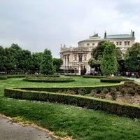 Photo taken at Burggarten by Metodi on 5/1/2013