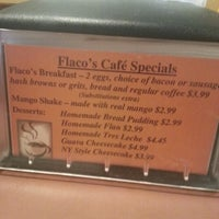 Photo taken at Flaco's Cafe by Beth K. on 1/10/2013