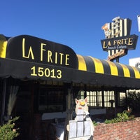 Photo taken at La Frite Cafe by Offbeat L.A. on 3/25/2016