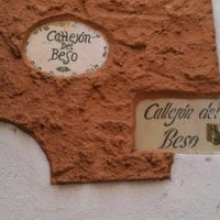 Photo taken at Callejón del Beso by Marko AnToÑo on 10/14/2012