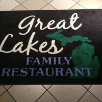 Photo taken at Great Lakes Family Restaurant by Daniel L. on 1/23/2013