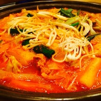 Photo taken at 춘천집 춤추는닭갈비 by Seungwoo C. on 3/8/2014