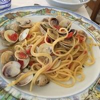 Photo taken at Trattoria Al Gatto Nero da Ruggero by Masami E. on 7/20/2016