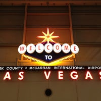 Photo taken at McCarran International Airport (LAS) by iacbtmn on 7/8/2013