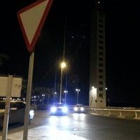 Photo taken at Puente Del Bimilenario by Kike H. on 9/25/2012