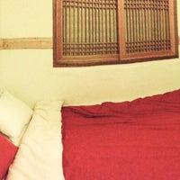 Photo taken at Bangrang Hostel by R L. on 5/4/2014