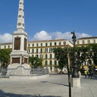 Photo taken at Plaza de la Merced by Pedro P. on 10/21/2011