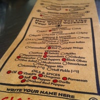 Photo taken at Which Wich? Superior Sandwiches by Claire on 12/30/2010