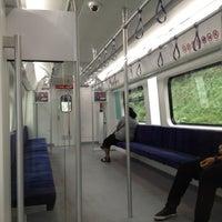 Photo taken at KTM Line - Bandar Tasik Selatan Station (KB04) by Bazilah on 12/10/2012