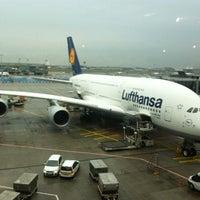Photo taken at Lufthansa Flight LH 720 by René M. on 10/26/2012