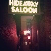 Photo taken at Hideaway Saloon by Vintage B. on 4/27/2014
